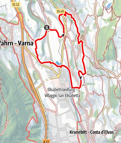 Karte / Törggele Rundweg