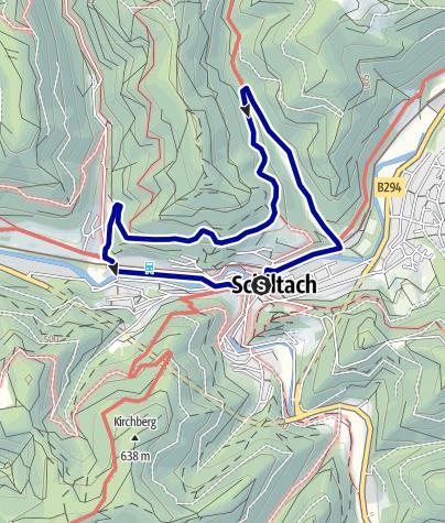 Karte / Spaziergang am Häberlesberg