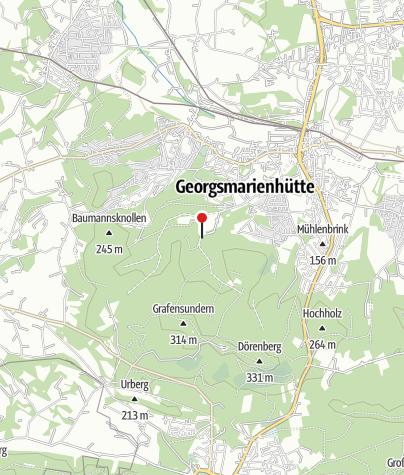 Karte / Gaststätte Forsthaus Oesede