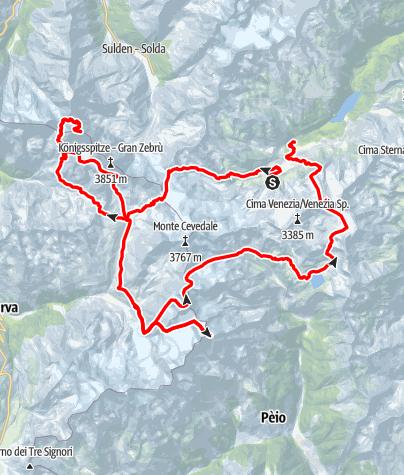 Kaart / Ortler