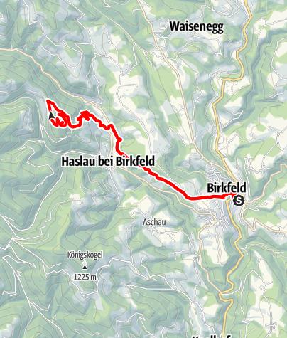 Karte / Schoberkogelweg