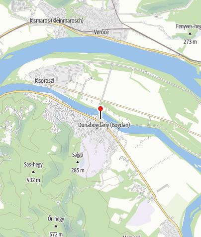 Mapa / Szúnyog Büfé (Dunabogdány)