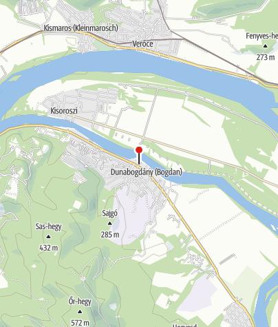 Mapa / Forgó Étterem (Dunabogdány)