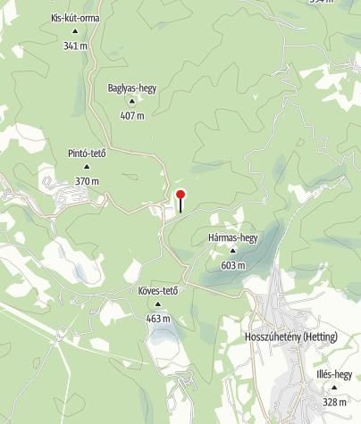 Térkép / Gyopár Kulcsosház