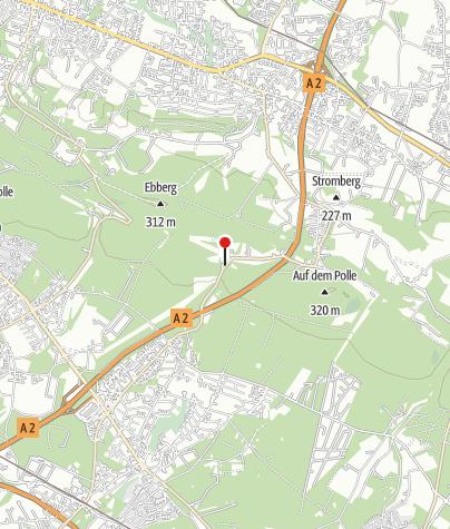 """Karte / Wanderparkplatz """"Eisgrund"""", Bielefeld-Lämershagen"""