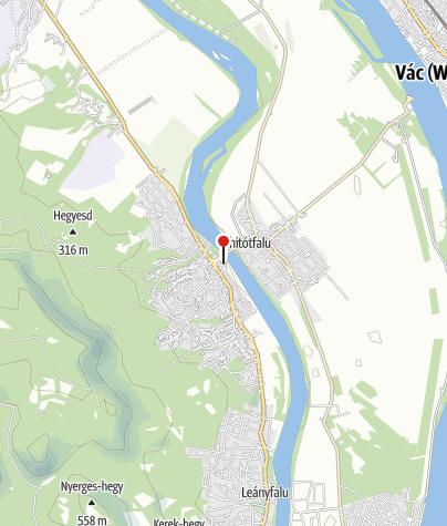Mapa / Kemping (Tahitótfalu)