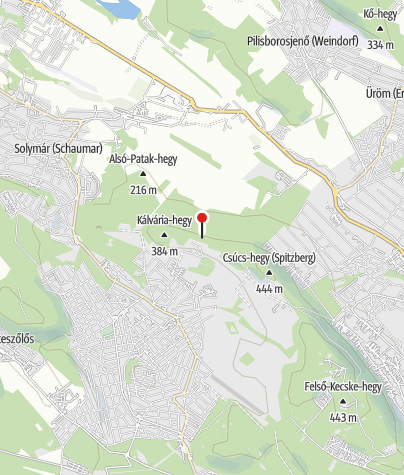 Map / Kötők padja kilátóhely