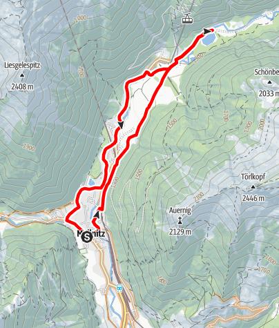 Karte / Stappitz Talrunde (Raineralm)