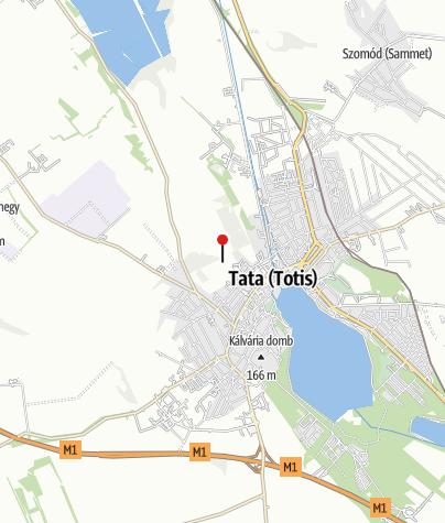 Térkép / Réti-tó tanösvény kilátója (Tata)