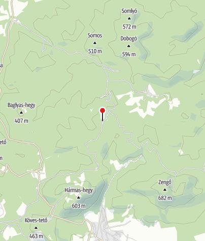 Térkép / Pusztabányai Kulcsosház