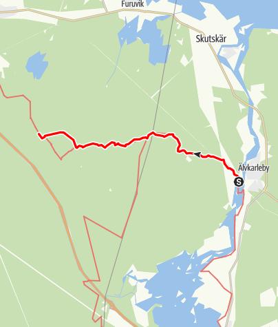 Map / Helgonleden, Älvkarleby till Mårtsbo