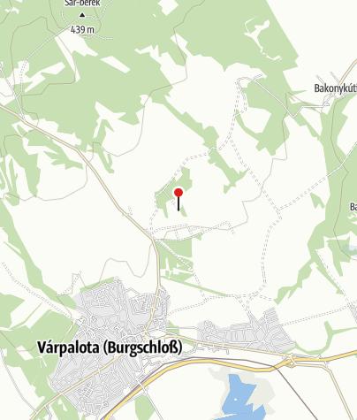 Map / Maderspach Viktor-kilátó (Várpalota)