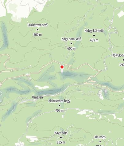 Térkép / Sólyom-kői barlangszállás