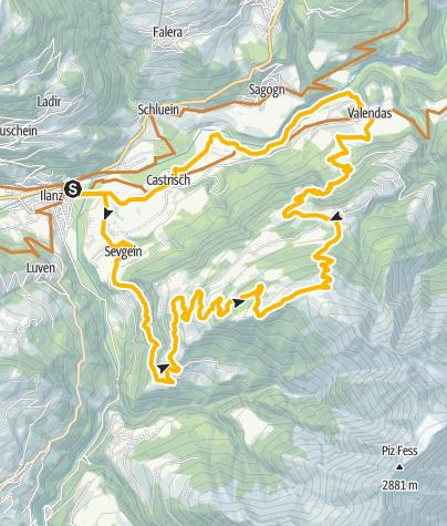 Karte / Dutjer Alp