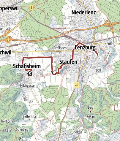 Map / Auf den Spuren der Hugenotten