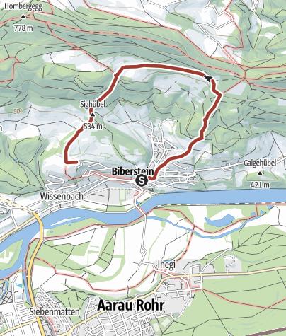 Map / Mit Perimuk zum Haselbrünneli