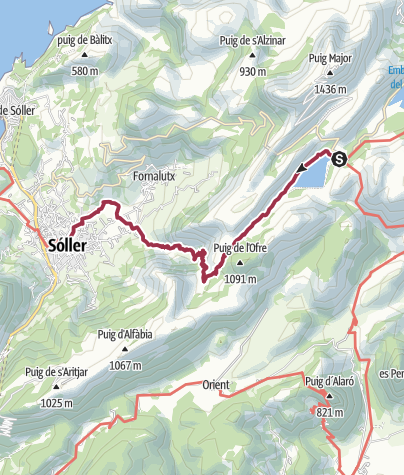 Mapa / Cuber to Soller