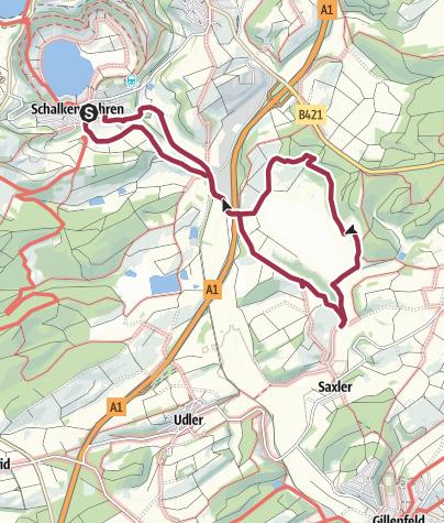 Kaart / MICHELS  WellnessHotel: Mürmes - Naturschutzgebiet (Rundwanderung)