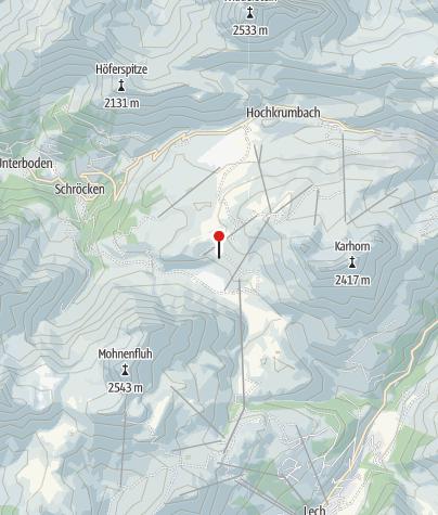 Karte / Auenfelder Hütte