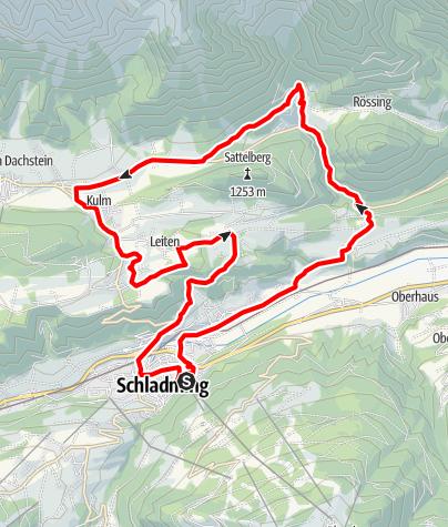 Mapa / Bike & Hike Tour Silberkarklamm