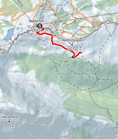 Karte / Nassfeld Singletrail - Yannick - Winkeltal