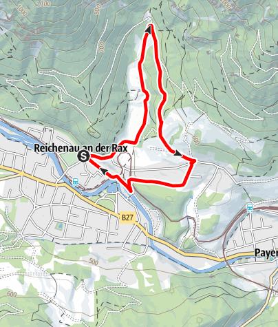 Mapa / Thalhofrunde in Reichenau