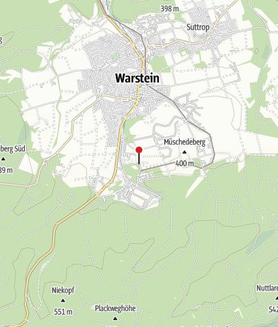 Karte / E-Bike Ladestation - Warstein: Warsteiner Welt