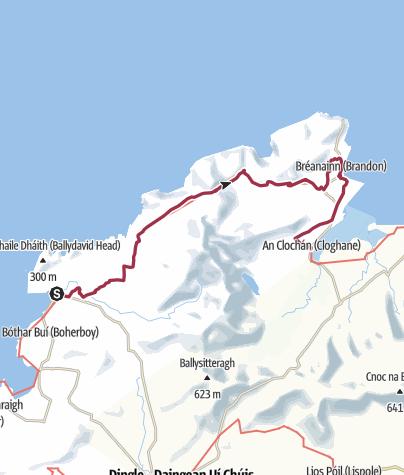 Map / Ballydavid to Cloghane