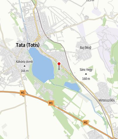 Map / Öreg-tó Club Hotel Ifjúsági szállás