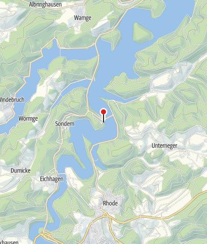 Karte / Blob Base Biggesee