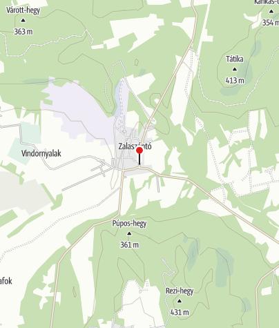 Map / Zalaszántó ( OKTPH_20_1)