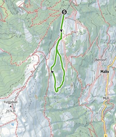 Kaart / Edelweiss-Rundweg (Brambi-Weg)