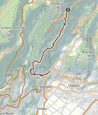 Karte / 769. Dos del Clef - Piazzole (Enduro)