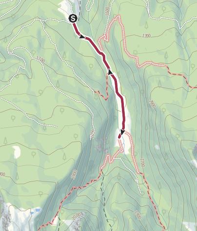 Cartina / Col passeggino a Malga Valmaggiore