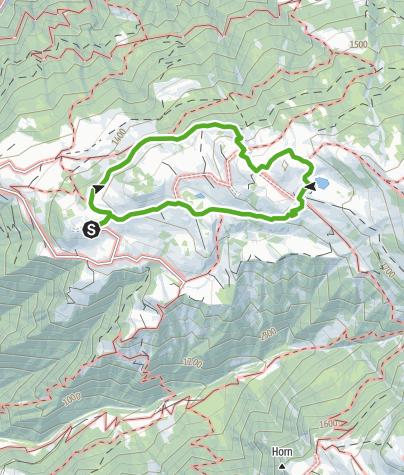 Karte / Rundwanderung Stelsersee