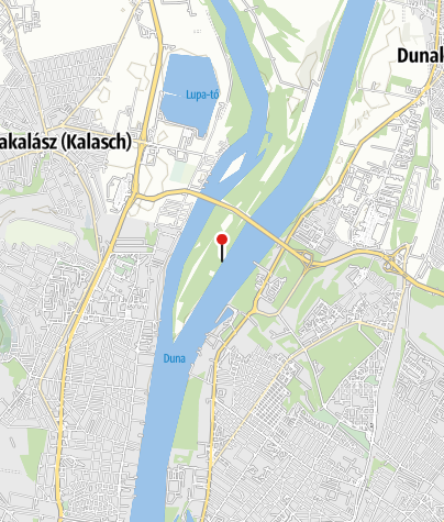 Térkép / Az elhunyt vízitúrázók emlékére