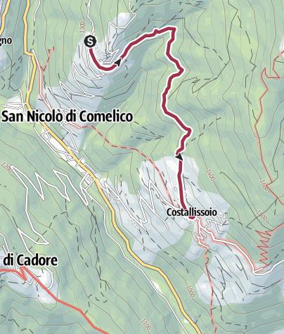 Map / Costa - Costalissoio