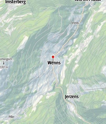 Kaart / Pitztaler Hof