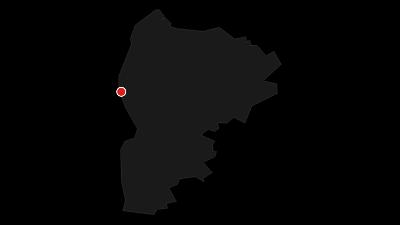 Karte / De Wusten - Radrundweg entlang der einstigen Warftensiedlungen