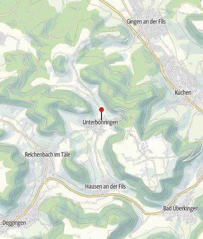 Karte / Hirsch Bad Überkingen/Unterböhringen