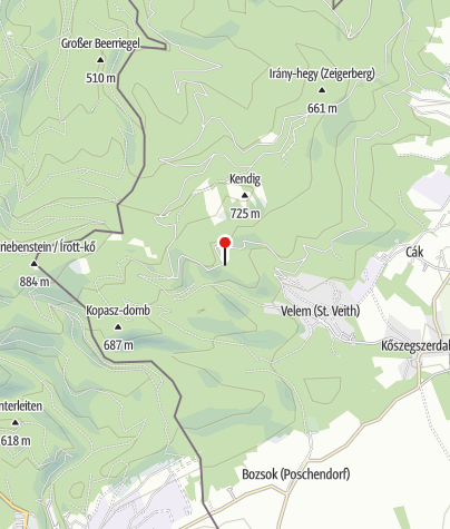Map / Élő erdő tanösvény