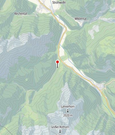 "Karte / Naturbadegebiet Vorderkaser - ""Wildes Baden"""