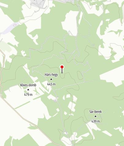 Map / Károly-lak Turistaház