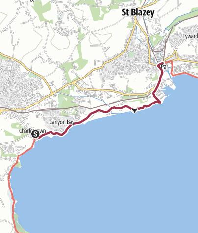 Map / Charlestown to Par
