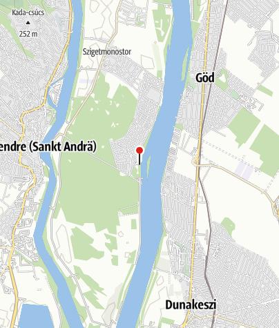 Térkép / Regatta Szabadidőközpont (Horány)