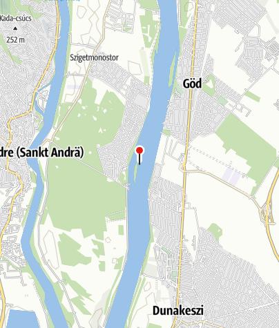 Térkép / Fürdőhely (Szürkő-sziget)