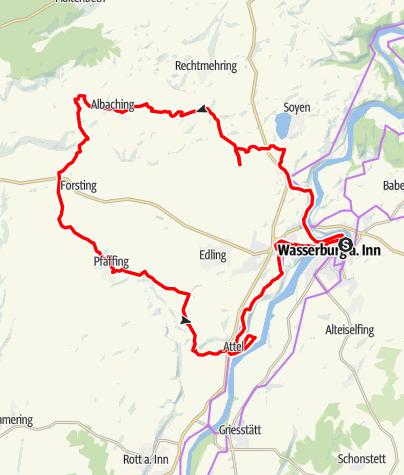 Karte / Von Baum zu Baum - Tour 2