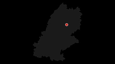 Karte / Die historische Fautsburgrunde