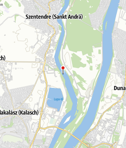 Karte / Korrodált cső a mederben (Szentendre)