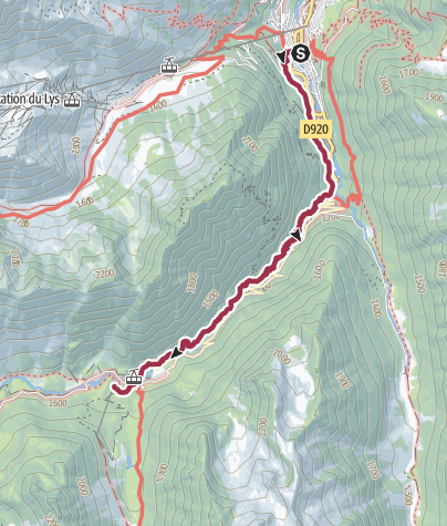 Map / Walk to Pont d'Espagne. Belvedere Cable Car. Walk to Lac Gaube Part One